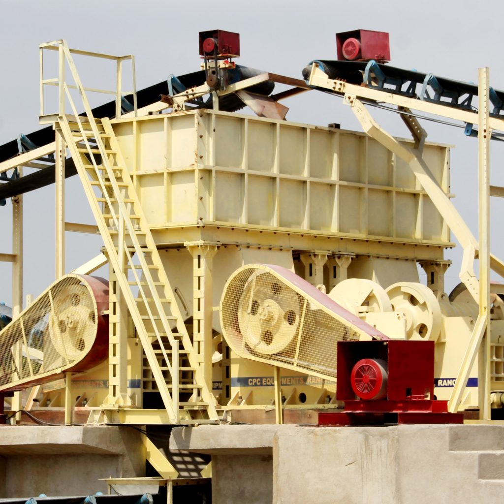 CPC Rhino Secondary Jaw Crusher with Surge Hopper