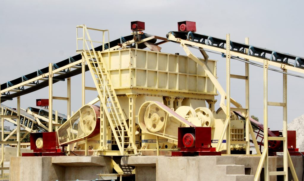 Secondary Jaw Crusher with Surge Hopper and Vibro Feeder CPC RANCHI JHARKHAND INDIA